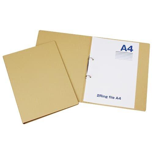 [해외]A4 2 반지 파일 제작 / A4 2 Ring File Craft