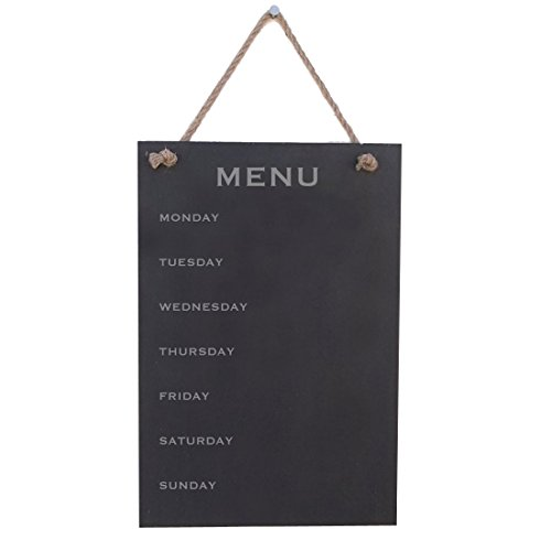Menu From Monday To Sunday Wood Sign By meijiafei ()