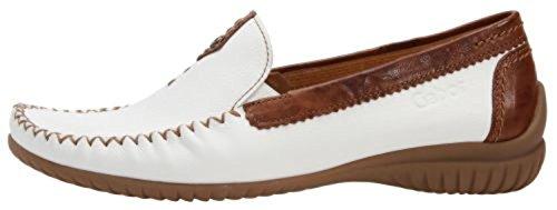 Gabor Comfort 86.090-51 Firenze-ladies Scarpe Slipper / Trotteur, Bianco Bianco