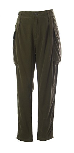 Polo Jeans Company Women's Cargo Pants Swampy Green IT - Co Polo Jean