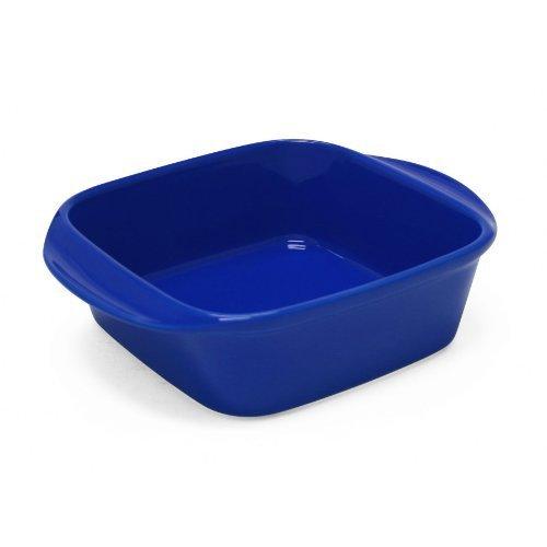 Chantal 93A-SQ20T BI Classic Square Baking Dish, 8 by 8 by 2.75-Inch, Indigo Blue by Chantal