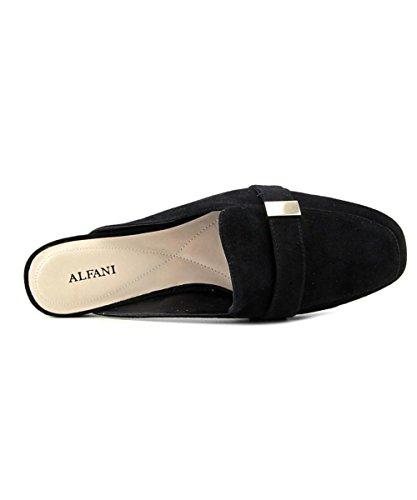 Aidaa Black Leder Frauen Alfani Suede Loafers BwA5qH