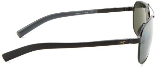 de polarizadas contracarriles Maui negro Jim brillante Negro 32702 gafas nbsp;Mens sol 6g0wq