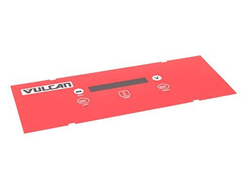 Vulcan-Hart 00-497421-00001 Control Panel Overlay for Compatible Vulcan-Hart Kitchen Equipment ()