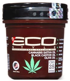 Eco Styler Cannabis Sativa Oil Styling Gel 8oz (Best Eco Styler Gel For 4a Hair)