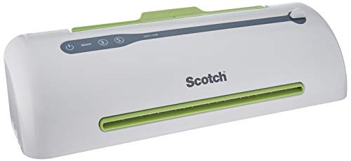 Scotch PRO Thermal Laminator, Never Jam Technology Automatically Prevents Misfed Items , 2 Roller System (TL906)