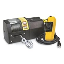 Superwinch 01002 SAC1000 120VAC winch, rated line pull 1,000 lb-454 kg