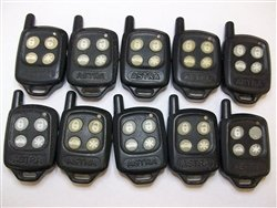 LOT OF 10 ASTRA 433MHZ Factory OEM KEY FOB Keyless Entry Remote Alarm Replace
