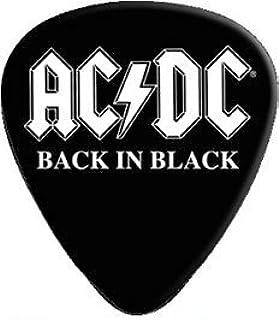 Amazon com: AC/DC - Guitar Pick Set - 5 Picks-Angus Young-UK