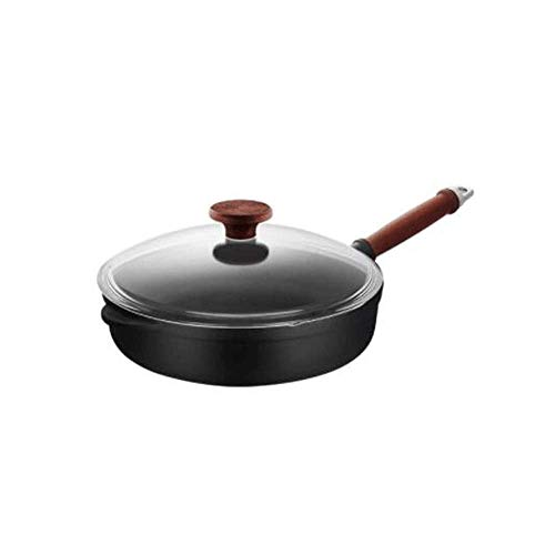 Soup Pot Pan Simple home Frying Pan, Non-stick Pan, Steak Pot, Omelet, Induction Cooker Gas Gas Cooker Open Fire…