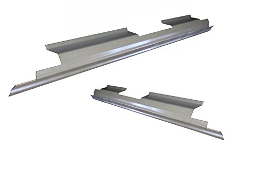 Motor City Sheet Metal - Works With 2004-2008 Ford F-150 4 Door Crew Cab Outer Rocker Panel Pair