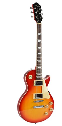 full size electric guitar with amp case and accessories pack sunburst arts entertainment. Black Bedroom Furniture Sets. Home Design Ideas