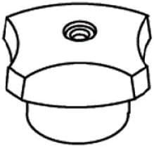 Kohler 41981-C-CP 交換用部品。