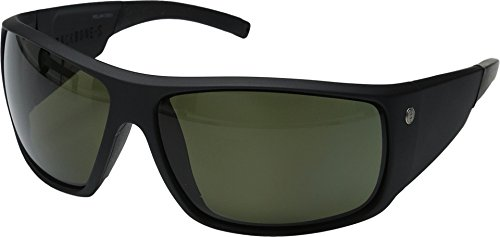 Electric Backbone S Sunglasses - Matte Black Frame - OHM Polarized Gray Lens by Electric Visual Evolution