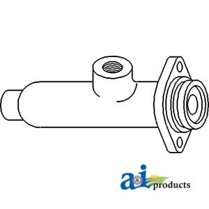 A&I Products Cylinder, Brake Master Replacement for Massey Ferguson Part Nu...