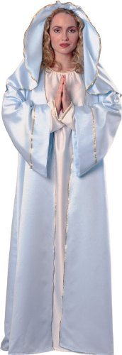 Rubie's Costume Women's Biblical Mary Costume, Adult,Blue/White,One Size (Mary Costume For Women)