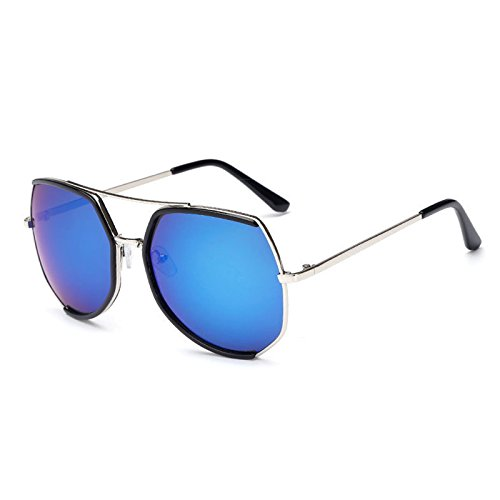 sol Back mujer Packers Blue Box Gafas Mercury Silver para de qBwRrtx4B