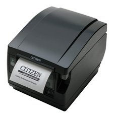 Citizen America CT-S851S3RSUBKP CT-S851 Series POS Thermal Printer with PNE Sensor, Front Exit, 300 mm/Sec Printing Speed, RS-232C Serial Connection, Black