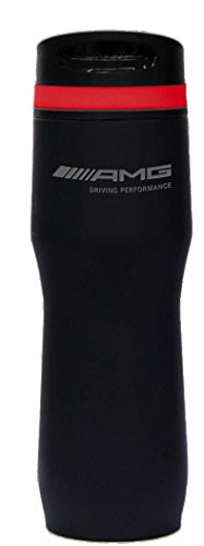 Genuine Mercedes Lifestyle Collection amg Matte Finish Tumbler With Silicone Band (Benz Mercedes Amg)