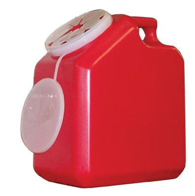 2 Gallon Sharps Container (Red) (1 ea. or 24 per cs.) by Pro-Tec
