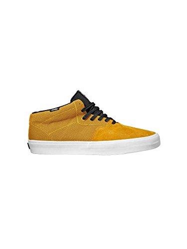 Herren Skateschuh Vans Cab Lite Skateshoes gold/white