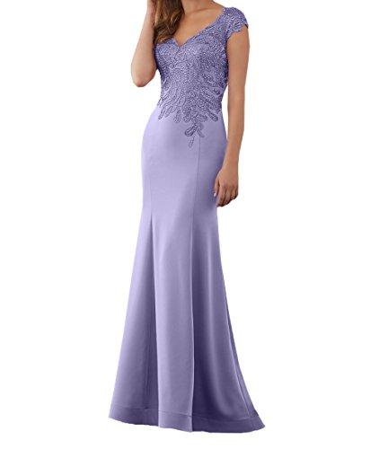 Charmant 2018 Neu Festlichkleider Spitze Lilac Etuikleider Brautmutterkleider Abendkleider Kleider Formalkleider Damen Lang Jugendweihe rrq1wnZWR