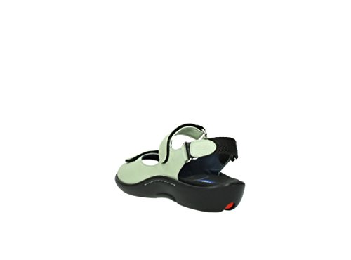 Light Womens Wolky Green 270 Salvia Leather 1300 Sandals TSS6fn