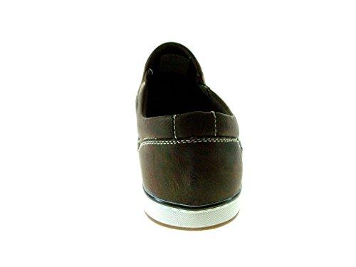 Emersn Unltd Menns Em1501 Komfort Tilfeldige Loafers Brun
