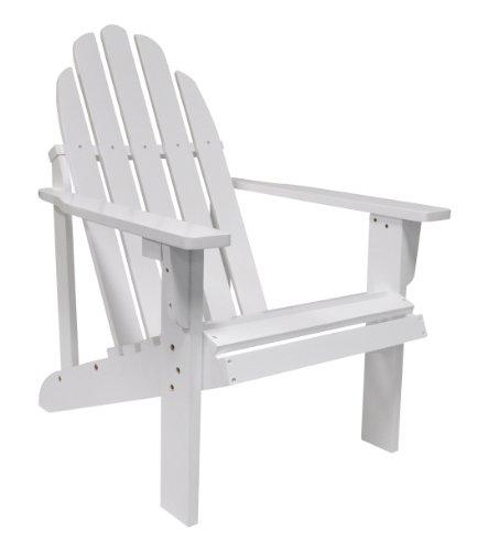 - Shine Company Catalina Adirondack Chair, White