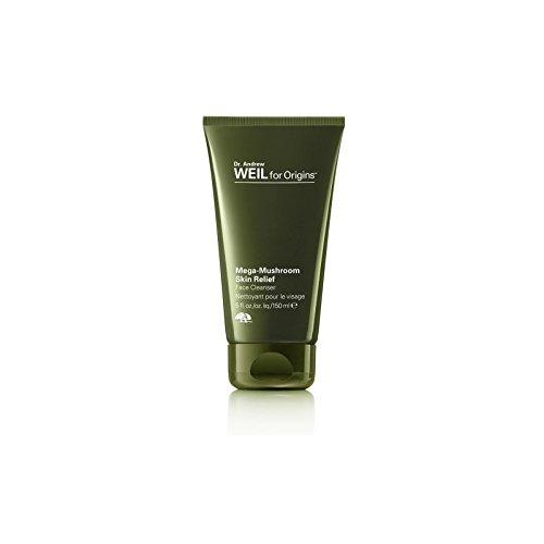 起源アンドルーワイル起源メガキノコ皮膚救済顔クレンザー150ミリリットルのために x4 - Origins Dr. Andrew Weil For Origins Mega-Mushroom Skin Relief Face Cleanser 150ml (Pack of 4) [並行輸入品] B071RN9HBH