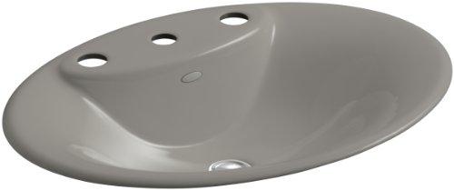 KOHLER K-2831-8-K4 Maratea Self-Rimming Bathroom Sink, Cashmere