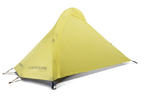 Easton Mountain Products Kilo 1P – Ultra Light Solo 3-Season Backpacking Tent with Easton Carbon Fiber Poles and Airlock Connectors – 918736/SL, Outdoor Stuffs