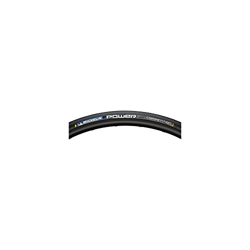 (MICHELIN Power Competition Tire - Clincher Black, 700c x 23mm)