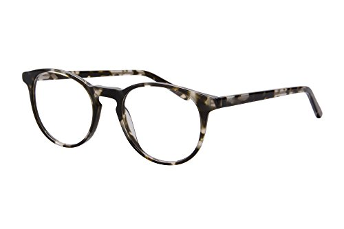 SHINU Ultra Thin Acetate Frame Progressive Multifocus Computer Reading Glasses-SH045(black demi, up 0 down - Long Thin For Frames Glasses Face