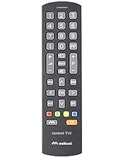 Meliconi Control TV.1 Telecomando universale, Ideale per TV standard e per SmartTV