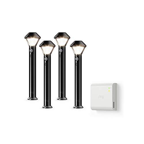Introducing Ring Smart Lighting -  Pathlight, Black (Starter Kit: ()