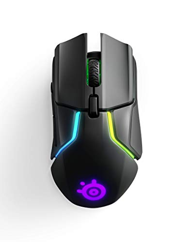 SteelSeries Rival 650 Quantum Wireless Gaming Mouse - Rapid Charging Battery - 12, 000 Cpi Truemove3+ Dual Optical…