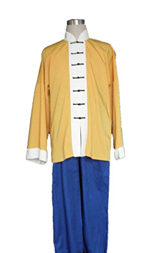 [Love Anime Chinese Kongfu Master Uniform Cosplay Costume] (Master Roshi Costume)
