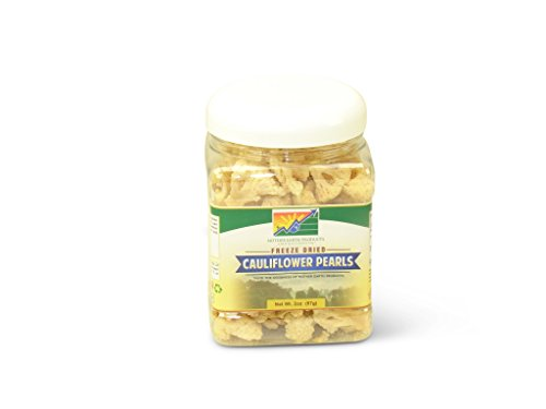 Mother Earth Products Freeze Dried Cauliflower (Quart Jar)