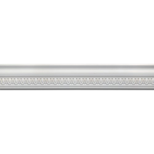 - Focal Point 23610 5 7/8-Inch Classic Egg and Dart Crown Moulding 5 7/8-Inch by 8 Foot, Primed White, 6-Pack