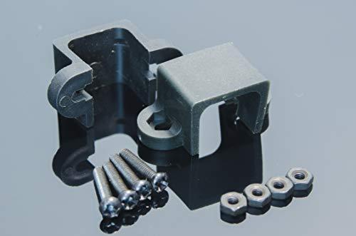 ACROBOTIC 2-Pack Mounting Bracket Black for N20 Micro Metal Gearmotor | Arduino Raspberry Pi ESP8266 Robot Gear Motor MiniQ