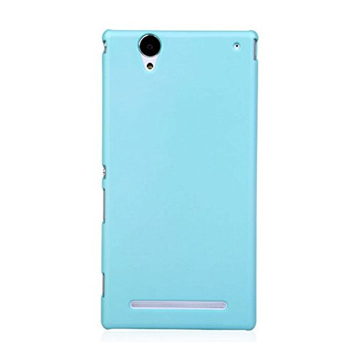 Xperia T2 Case, Premium Slim PC Matte Hard Case for Sony Xperia T2 Ultra (Sky Blue)