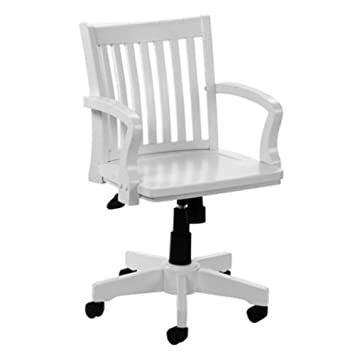 Cool Boss Antique White Bankers Chair Amazon Co Uk Office Products Machost Co Dining Chair Design Ideas Machostcouk