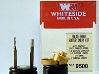Whiteside Router Bits 9500 Solid Brass Inlay Kit - Inlay Template