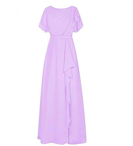 Linie Beauty Damen A KA Kleid Lavendel 0T7qwt