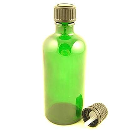 Botellas de vidrio Durham verde con tamper Evident Dropper Cap ...
