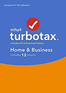 TurboTax/ImpotRapide Home & Business 2018, 12 returns (B07KGSKB6V) | Amazon Products