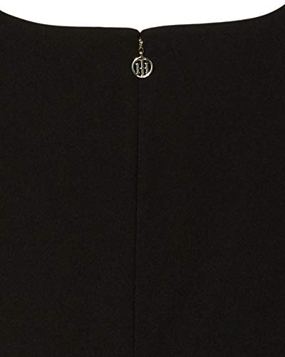 Tommy Hilfiger Women's Classic Scuba Crepe Two Pocket Dress