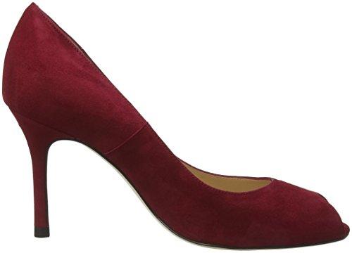 Escarpins BENNETT poppy Margo Ouvert LK Red Bout Femme Rouge SAnEaU