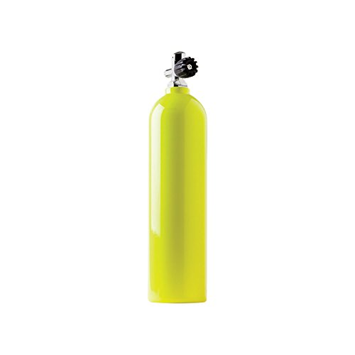 Catalina Pony Bottle Tanks, Yellow with Pro Valve-30 Cubic -